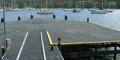 Kettering FRP clad jetty