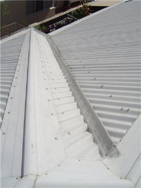Gutter Guard - Corrugated - C Section Valley